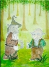 03 Weise Gnome - Naturwesen-Essenz  --  100ml Spray