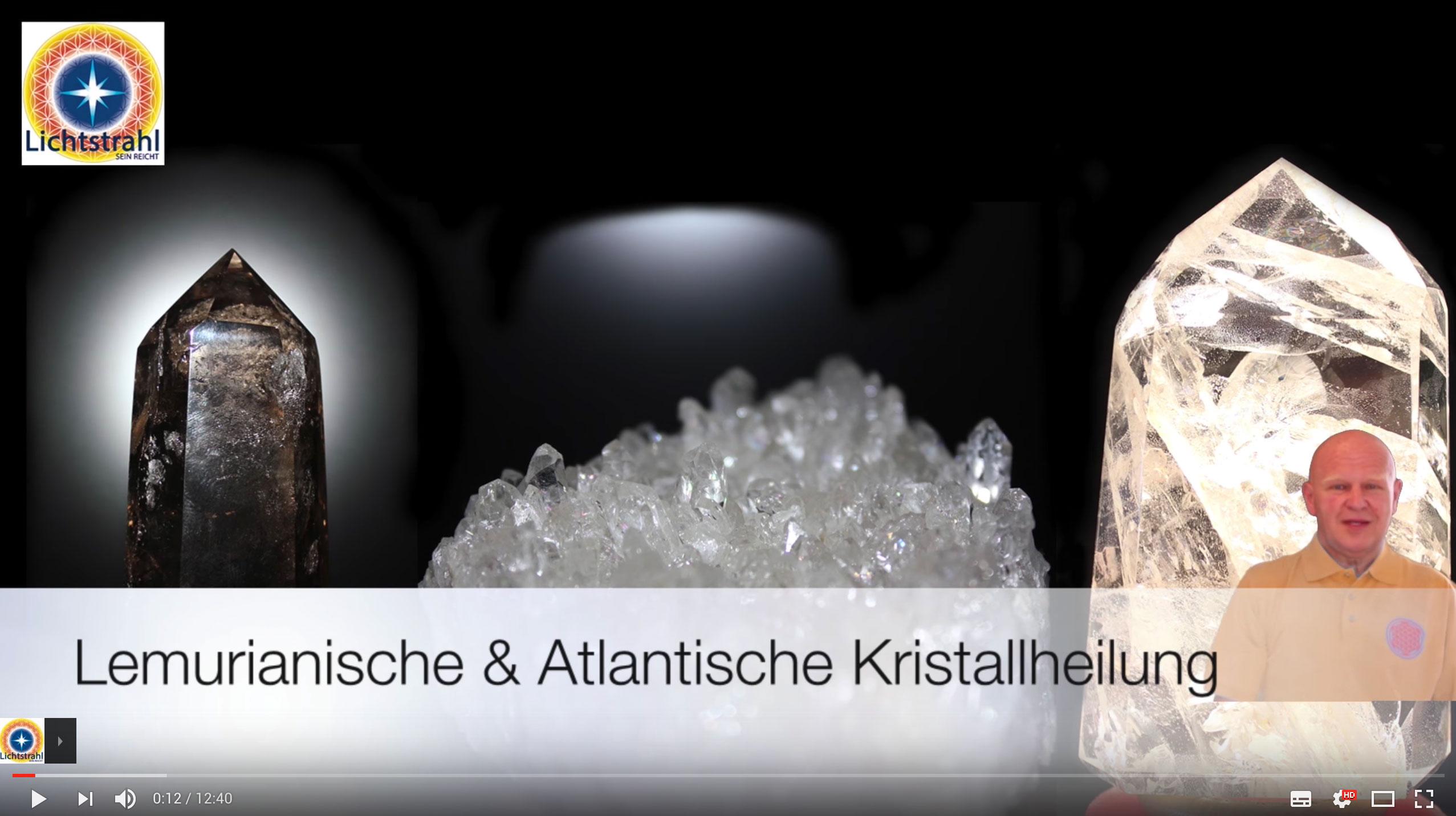 Videobild Kristallheilung Lichtstrahl V2